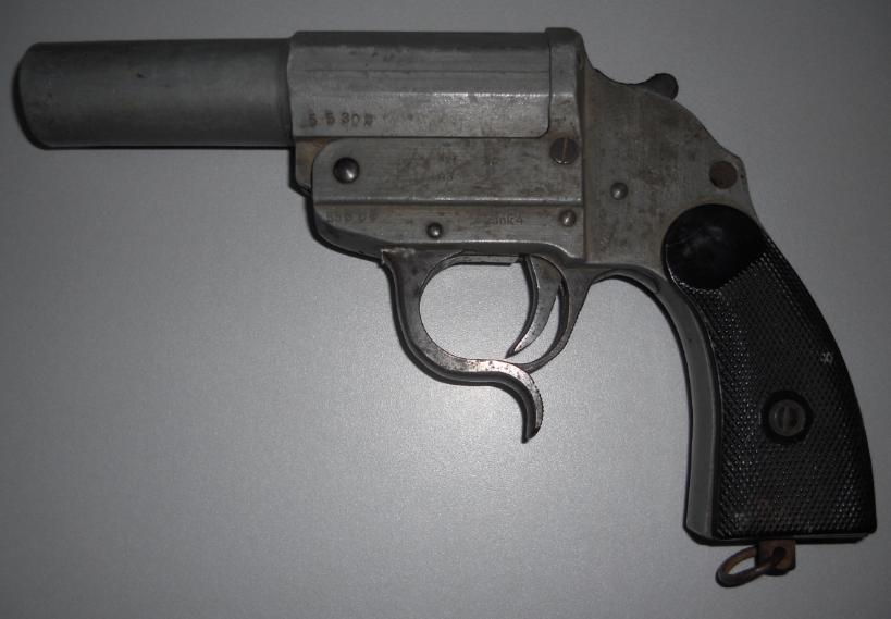 Leuchtpistole Zink 4 - ayf 43 / pistolet lance fusées  98207096z4