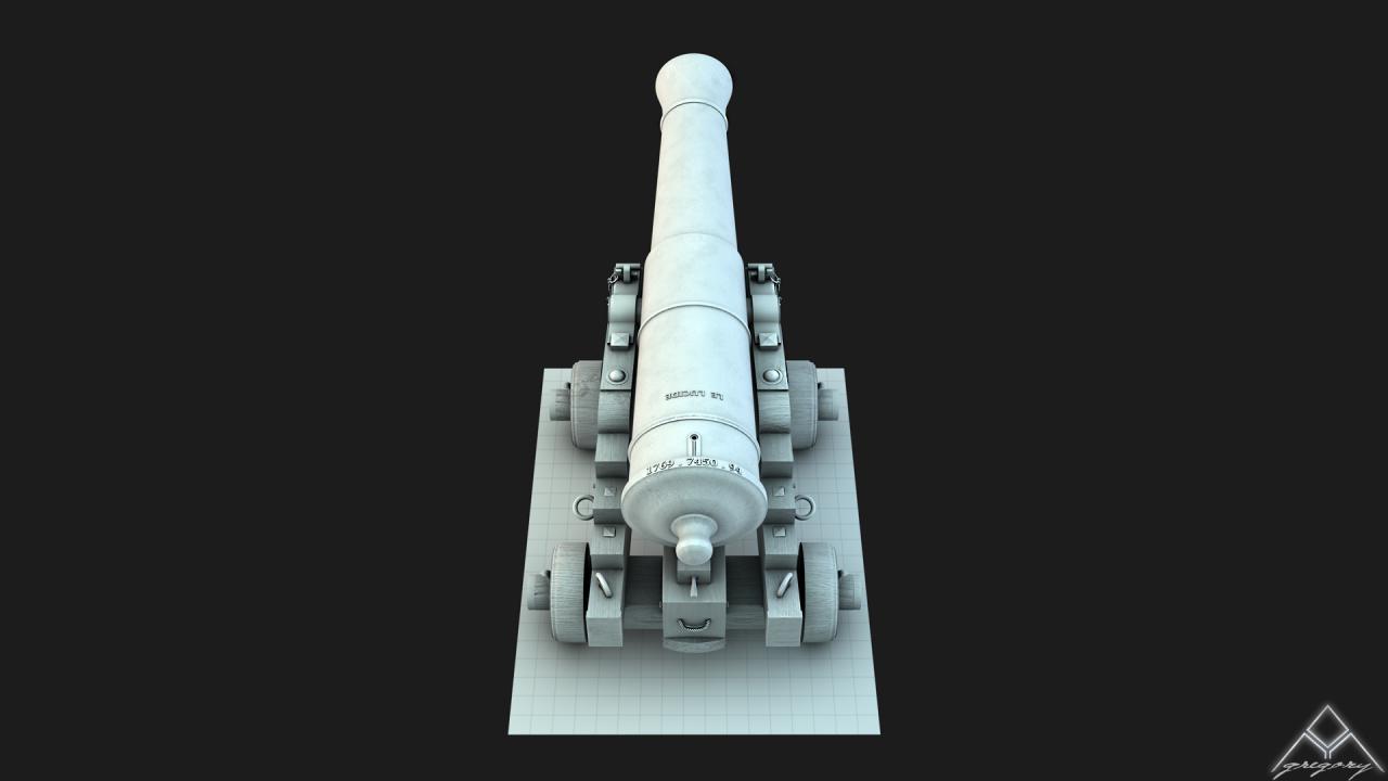 Canons pour le vaisseau de 74 canons - Page 3 982151Canon363