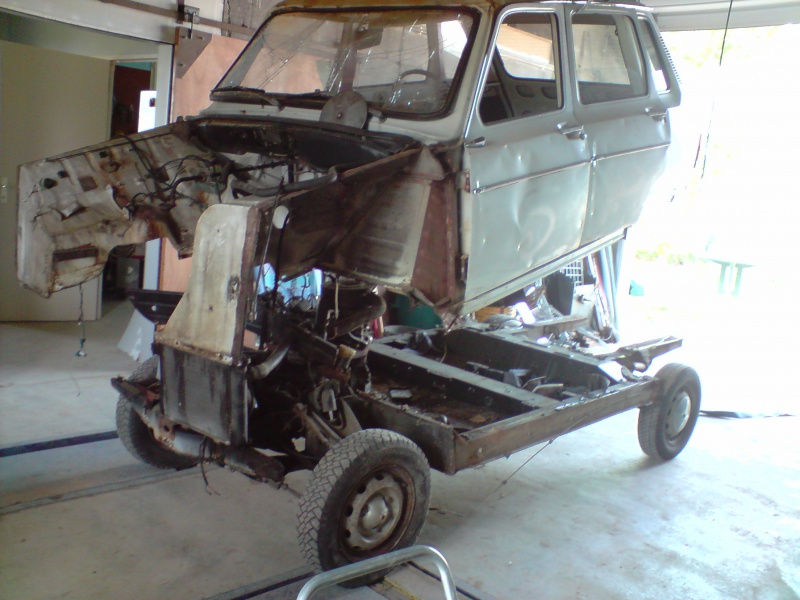 Ma restauration Renault Rodéo 6 983443P240509112801