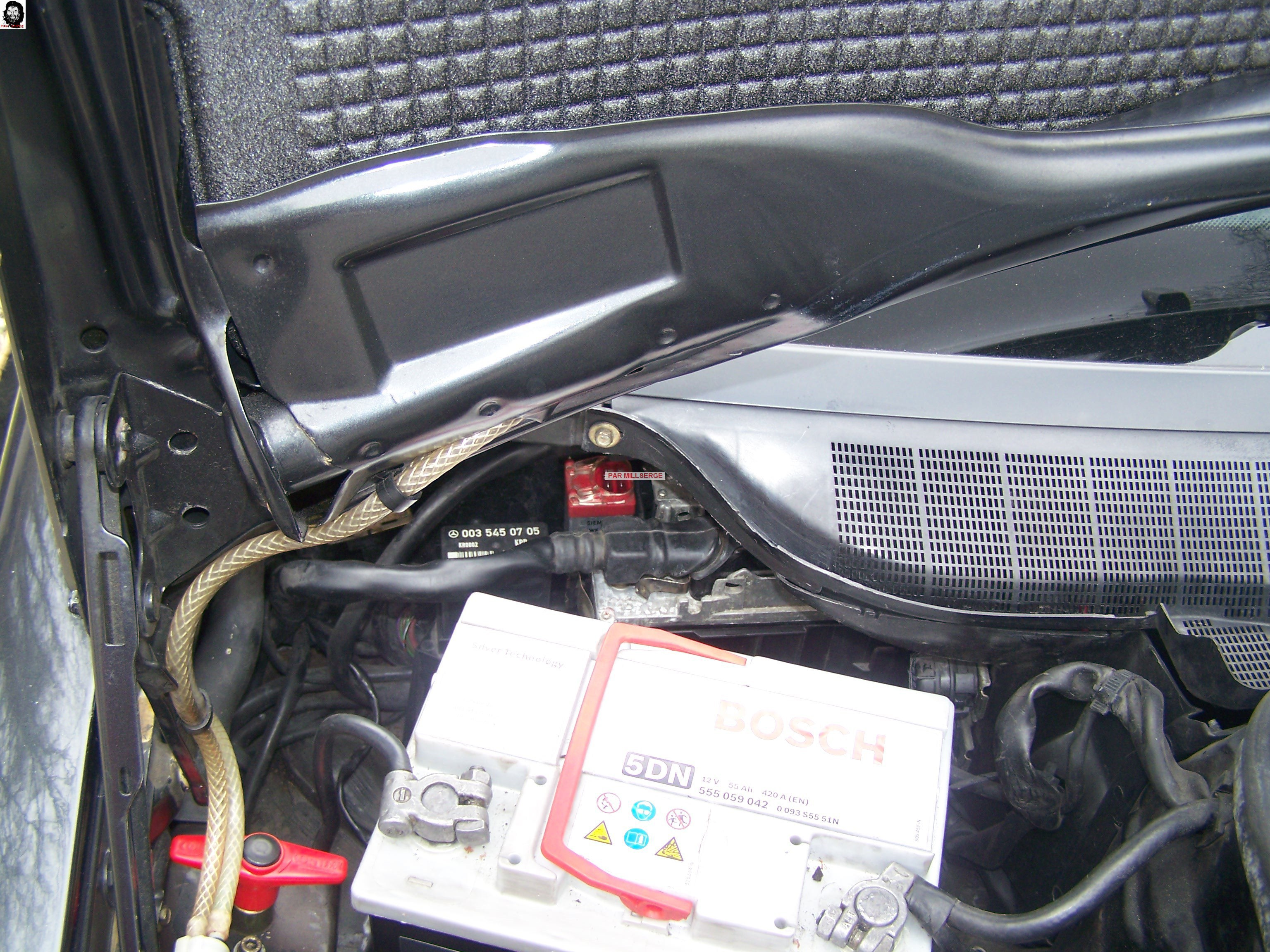 TUTO: Retrait d'une SERPI STAR MK 130-V 9840565Demontagebatteriepouraccderauxrelais