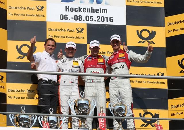 Edoardo Mortara est le premier vainqueur en DTM de la saison 2016  984102A163615medium