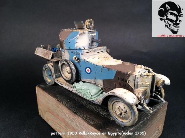 Pattern 1920 Rolls-Royce MK1 en Egypte - (Roden 1/35) 984529finROLS006
