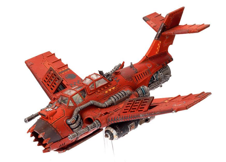 Assaut aérien - de nouveaux aéronefs pour W40K 984819OrkBommer01