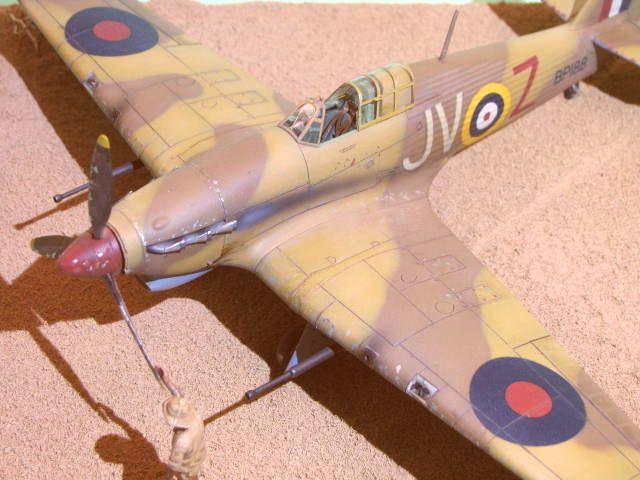 Hawker Hurricane Mk IId Trop 6 Sqn 1942 Hobbycraft 1/48.... Terminé! - Page 2 984926IMG1219