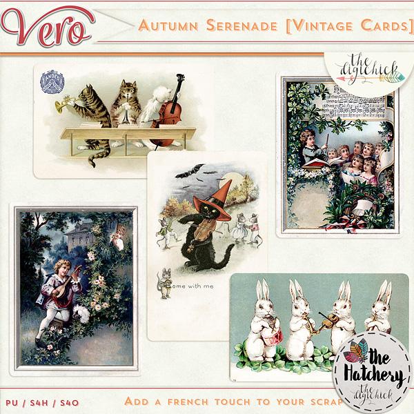 Véro - MAJ 02/03/17 - Spring has sprung ...  - $1 per pack  - Page 10 985918Veroautumnserenadevintcardspv