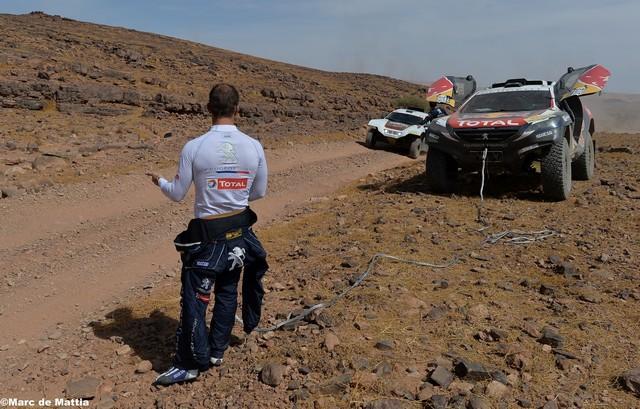 Team Peugeot Total : Rallye du maroc / ETAPE 1 : Boucle de Zagora 9865575612cf5262cda