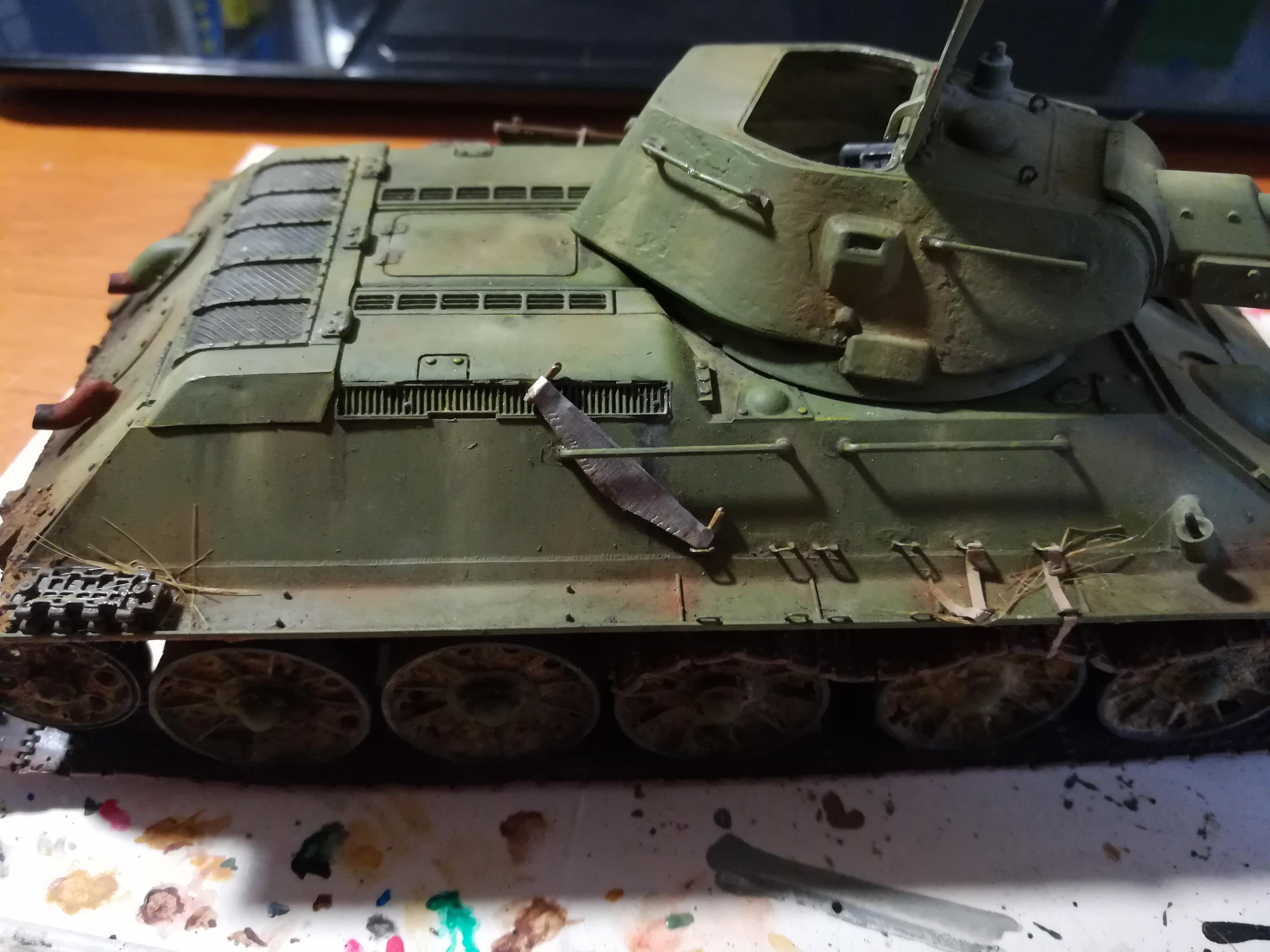 Front de l'Est, 1942 - T34 et Wehrmacht - Zvezda - 1/35 - Page 2 987063IMG20171210140147