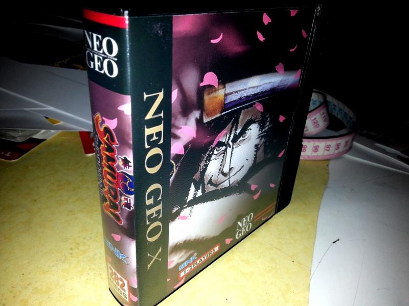 Insert neo geo x pour boites neogeo pocket 98746220130130002717
