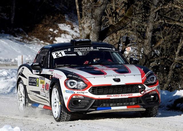 Premier test concluant en course pour l'Abarth 124 rally au 85ème Rallye de Monte-Carlo 988057170123AbarthDelecour