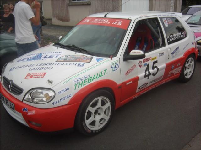 30è Rallye Tessy sur Vire  - Gouvets (vérifications techniques) 988526Sep03241