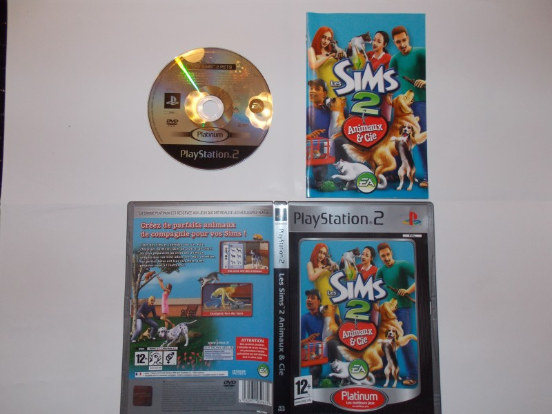 Les Sims 2 Animaux & Cie 988800Playstation2Lessims2animauxCieplat