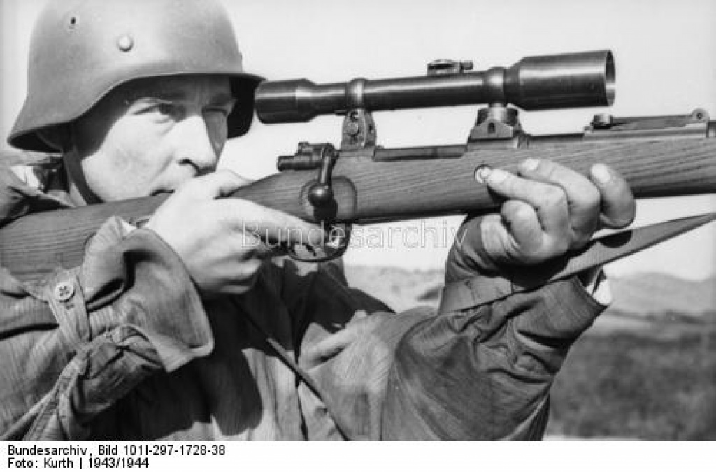 L'arme du tireur d'élite allemand de la Wehrmacht (1939-1945) : le Mauser K98k 988982athene5xezgj4kj3kgyxluc97layout