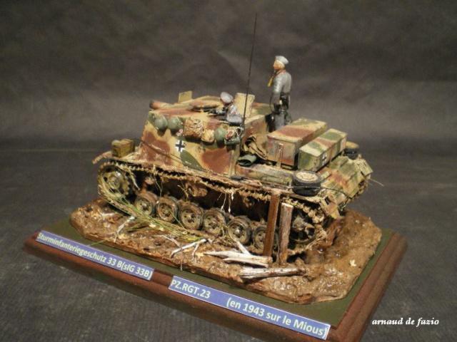 sturminfanteriegeschutz (sIG 33 B)     pz.regt.23 en 1943 sur le mious 990351IMGP1836