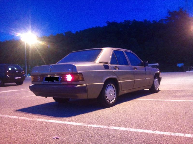 Mercedes 190 1.8 BVA, mon nouveau dailly - Page 9 992861DSC2305