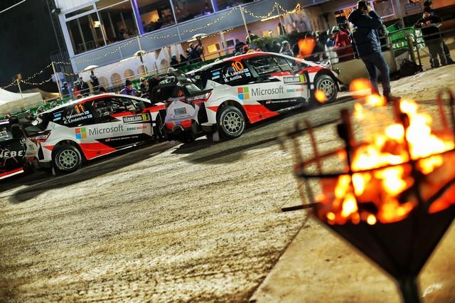 Jari-Matti Latvala Gagne En Suède Avec La Yaris WRC Et Prend La Tête Du Championnat Du Monde 994017AL20170024742