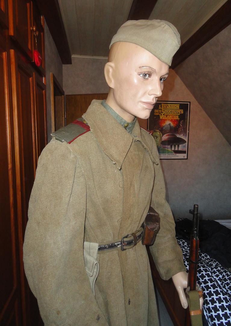 Armée rouge - Breslau et Torgau 1945 - tenue de combat 996850DSC02474
