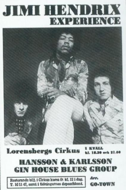 Gothenburg (Lorensbergs Cirkus) : 8 janvier 1969 [Premier  concert] 9969836916
