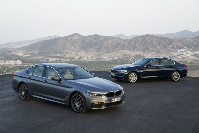 La nouvelle BMW Série 5 Berline. Plus légère, plus dynamique, plus sobre et entièrement interconnectée 997253P90237292highResthenewbmw5series