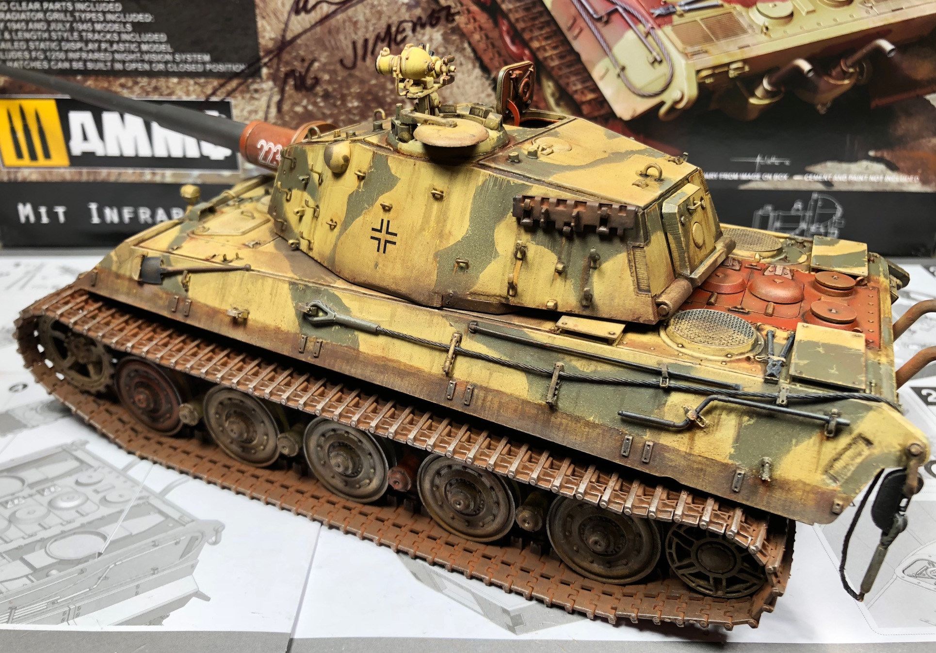 "King Tiger Ammo ""What If"" 998744Weathering3RearLeftC"