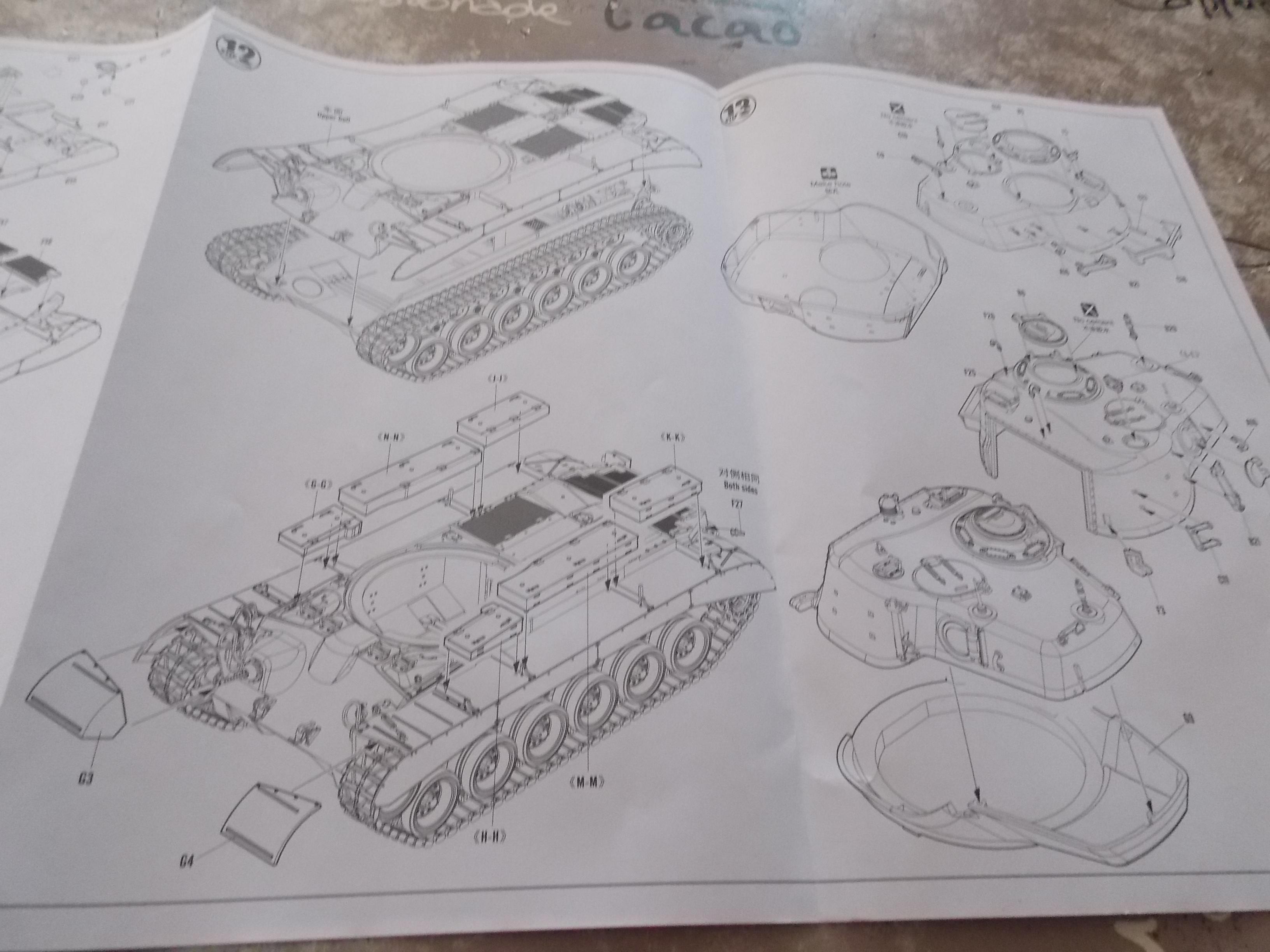 PERSHING M 26 fin de conflit 1945 (Hobby Boss 1/35) 999124Alouestriendenouveau166