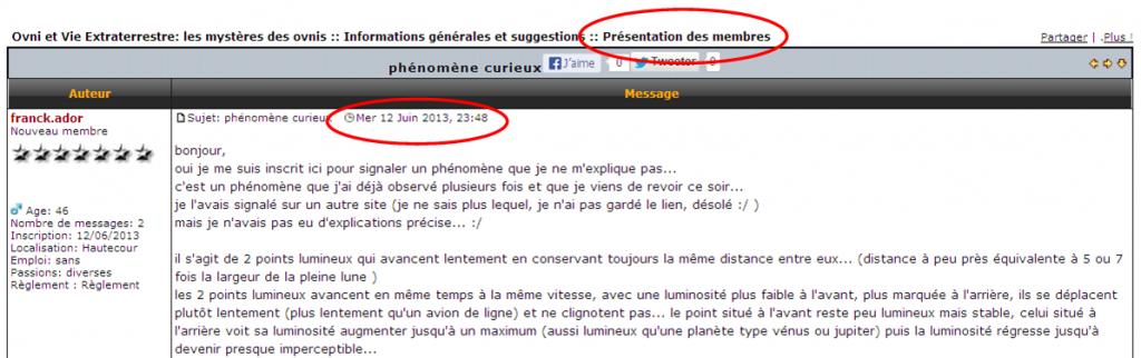 2013: le 12/06 à 23h30 - phénomène lumineuxUn phénomène surprenant - Hautecour - Savoie (dép.73) - Page 2 999559franckador9