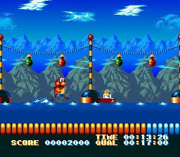 James Pond's Crazy Sports - Fiche de jeu Mini_111437134