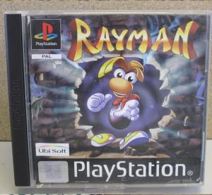 "Jeux ""multi-version"" black label PS1 Mini_116565Rayman1"