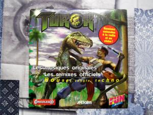 CD audio Killer Instinct, Player One, Turok, Psygnosis soundtrack vol  Mini_1627361004582