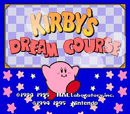 Kirby's Dream Course - Fiche de jeu Mini_185983761