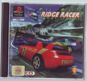 "Jeux ""multi-version"" black label PS1 Mini_200566RidgeRacer1"