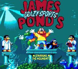James Pond's Crazy Sports - Fiche de jeu Mini_206703831