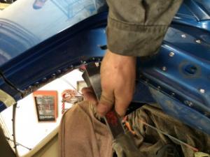 """Golf 2 1l6 TD 80 Accidenté en """" réparation""""  Mini_216888IMG1175"""