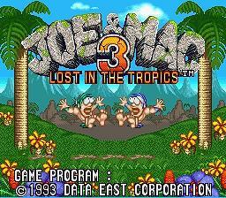 Joe & Mac 3 - Fiche de jeu Mini_226818321