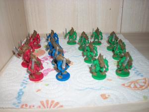 Essai peinture: World of Warcraft - The Boardgame Mini_2672921000436