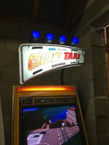 [VDS] Borne arcade Crazy Taxi High Roller etat collection Mini_284278IMG0445