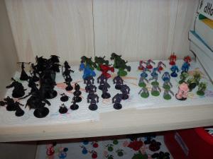 Essai peinture: World of Warcraft - The Boardgame Mini_3551771000447
