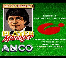 Kevin Keegan's Player Manager - Fiche de jeu Mini_371179761
