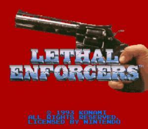 Lethal Enforcers - Fiche de jeu Mini_401100711