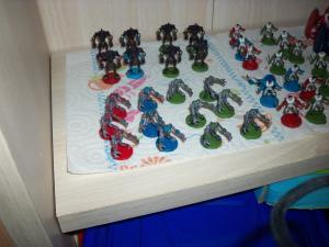 Essai peinture: World of Warcraft - The Boardgame Mini_4118791000458