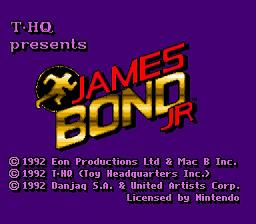 James Bond Jr. - Fiche de jeu Mini_477091621