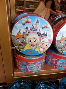 "(merchandising) ""The Pleasant Goat and Big Big Wolf"" arrive à Hong Kong Disneyland Mini_479677hkdl4"
