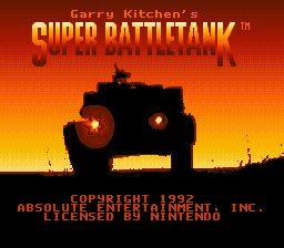 Garry Kitchen's Super Battletank - Fiche de jeu Mini_503290511