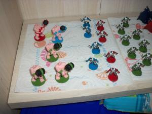 Essai peinture: World of Warcraft - The Boardgame Mini_5119661000446