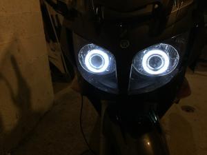 Optique - phare lenticulaire sur FJR Mini_514495IMG0234