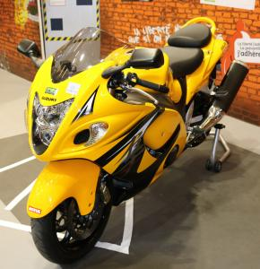 MT-09 CMC motorcycle Jaune et Noir Mini_543284YJaune0052