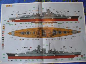 BISMARCK 1/350 Platinum Edition Mini_564401DKMBismarck05