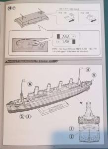 RMS Titanic 1/700 LED Set ACADEMY Mini_594166TitanicAcademy22