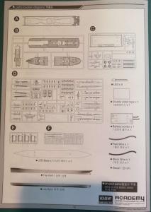 RMS Titanic 1/700 LED Set ACADEMY Mini_603991TitanicAcademy23