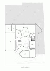 """Challenge thème : """"modélisation et rendu d'une maison atypique"""" - Silk37 & SB - ArchiCAD 17 - 3DS/V-Ray - Photoshop Mini_61970701RezdeChaussee"""