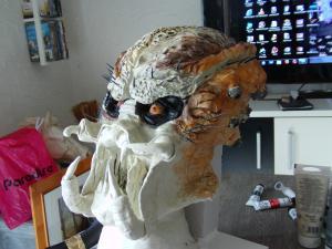 première sculpture predator en terre cuite Mini_629468DSC00268